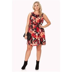 Forever 21 plus size fit & flare dress 2x